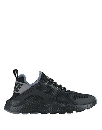 Nike Air Huarache Run Ultra Shoes-BLACK-8 88349482_BLACK_8
