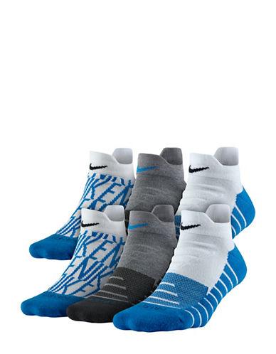 Nike Six-Pack Logo Training Socks Set-MULTI-Medium