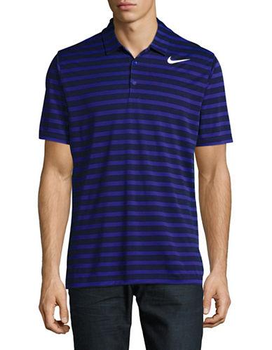 Nike Striped Golf Polo-BLUE-Medium 89108861_BLUE_Medium