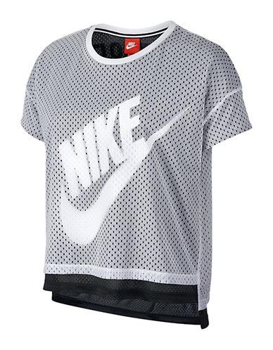 Nike Crop Mesh Tank-WHITE-X-Large 88472093_WHITE_X-Large