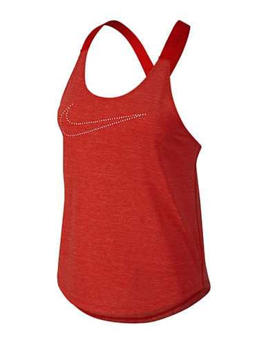 Nike Dri-FIT Elastika Keyhole Tank Top-RED-X-Large 88245599_RED_X-Large