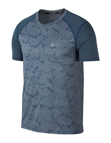 Nike Dry Miler Running Top-BLUE-XX-Large 89848183_BLUE_XX-Large