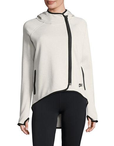 Nike Tech Fleece Cape-WHITE-Large