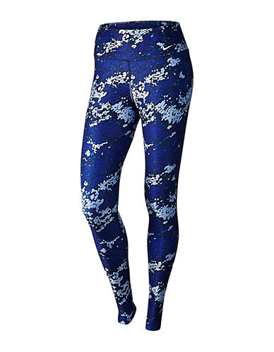Nike Legend Printed Tights-BLUE MULTI-Small 88227068_BLUE MULTI_Small