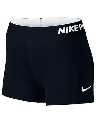 Nike Pro Cool Shorts-BLACK-X-Small