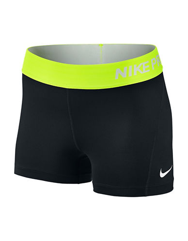 Nike Pro Cool Training Shorts-BLACK/VOLT-X-Small 88389068_BLACK/VOLT_X-Small
