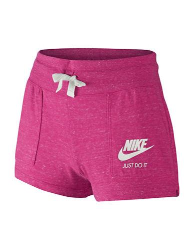 Nike Gym Vintage Shorts-VIVID PINK-10-12 88351584_VIVID PINK_10-12