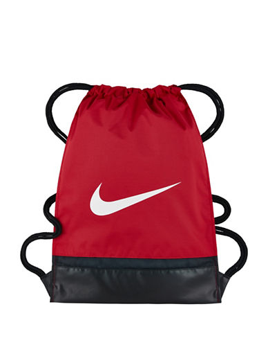 Nike Brasilia Training Gymbag-RED-One Size
