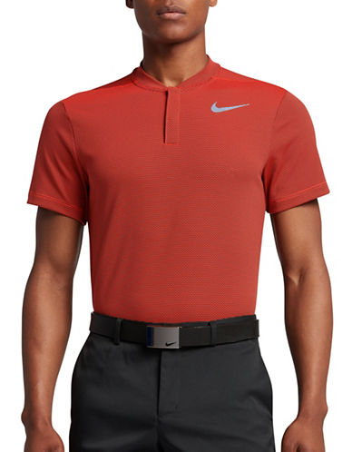 Nike MM Fly AeroReact Blade Golf Polo-ORANGE-XX-Large