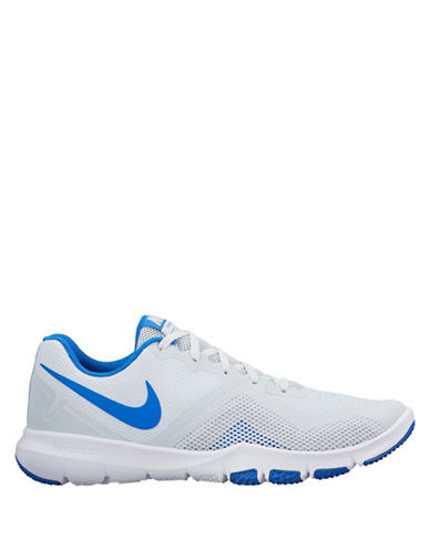 Nike Flex Control II Training Sneakers-SILVER-8