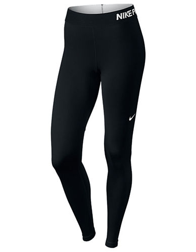 Nike Pro Cool Training Capris-BLACK-X-Large
