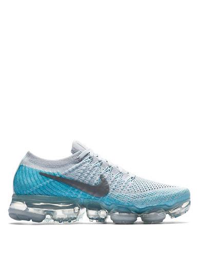 Nike VaporMax Flyknit Sneakers-PLATINUM-6