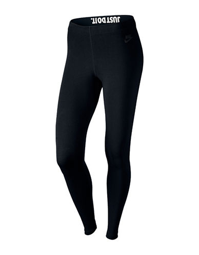 Nike Leg-A-See Just Do It Leggings-BLACK-Medium 88568581_BLACK_Medium