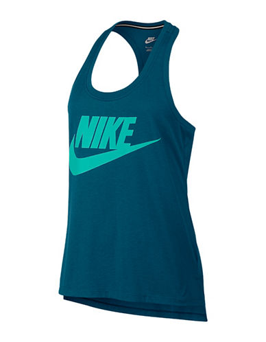 Nike Jersey Signal Tank Top-BLUE-Small 88618674_BLUE_Small