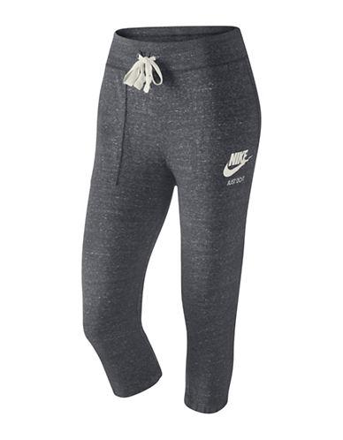 Nike Gym Vintage Capri Pants-CARBON-X-Large