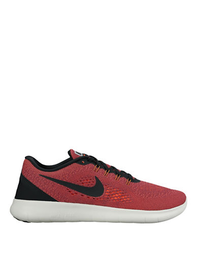 Nike Free Run Knit Sneakers-ORANGE-10.5 88929618_ORANGE_10.5
