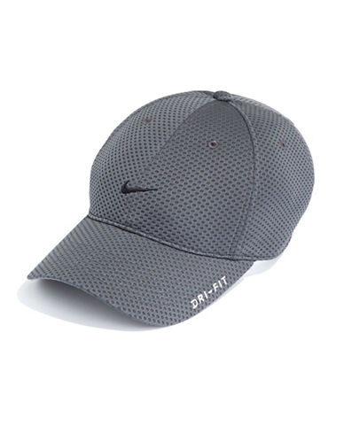 Nike Tailwind 6-Panel Baseball Cap-GREY-One Size