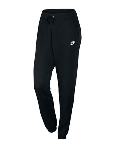 Nike Brushback Fleece Jogger Pants-BLACK-Medium 88619483_BLACK_Medium
