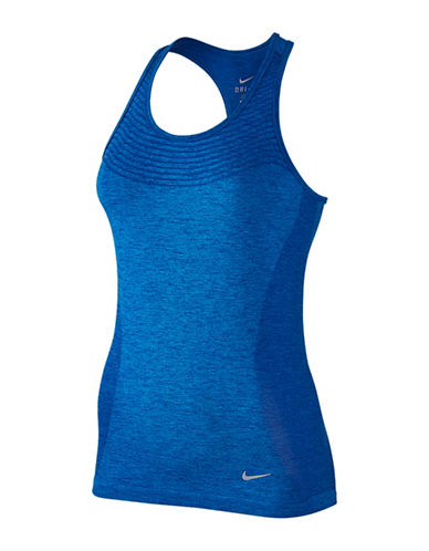 Nike Dri-FIT Knit Tank-BLUE-Medium 88390711_BLUE_Medium
