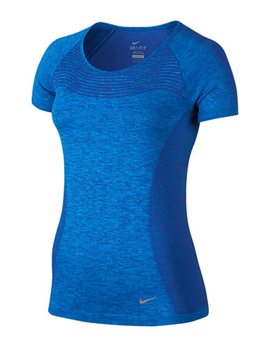 Nike Dri-FIT Knit Tee-BLUE-X-Large 88405171_BLUE_X-Large