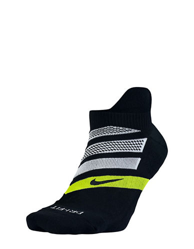 Nike Dry Cushion Dynamic Arch No-Show Running Sock-BLACK-Large 89102942_BLACK_Large