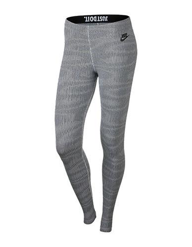 Nike Leg-A-See Print Leggings-BLACK-Large 88414444_BLACK_Large