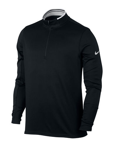 Nike Dry Half-Zip Golf Top-BLACK-Small 89108997_BLACK_Small