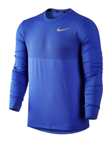 Nike Zonal Cooling Relay Running Top-BLUE-XX-Large 88973842_BLUE_XX-Large