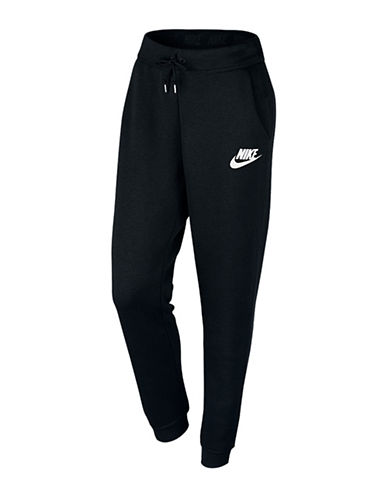 Nike Fleece Rally Jogging Pants-BLACK-Large 88618666_BLACK_Large