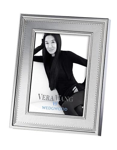 Vera Wang Vera Wang Wedgwood Grosgrain Silver 5 x 7in Frame-SILVER-Medium