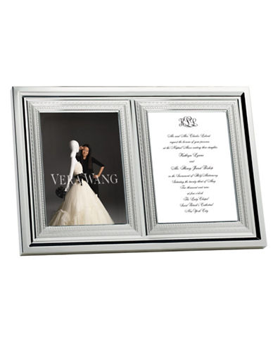 Vera Wang With Love Silver Plated Invitation Frame-SILVER PLATED-One Size
