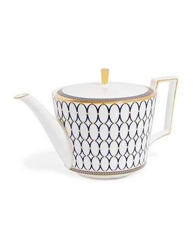 Wedgwood Renaissance Gold Teapot-WHITE-One Size