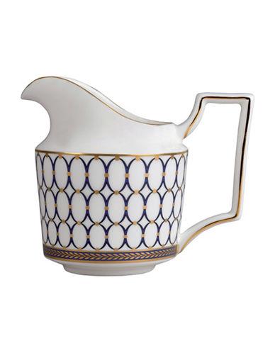 Wedgwood Renaissance Gold Creamer Jug-WHITE-One Size