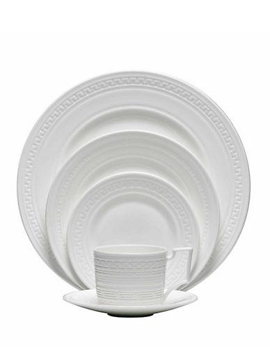 Wedgwood Wedgwood Intaglio 5 Piece Place Setting-WHITE-One Size 84027242_WHITE_One Size