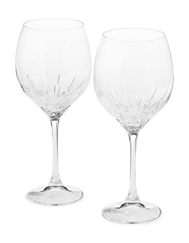 Vera Wang Duchesse Crystal Goblet Set-NO COLOUR-One Size