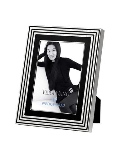 Vera Wang Wedgwood With Love Noir 5In X 7In Frame-BLACK-Medium