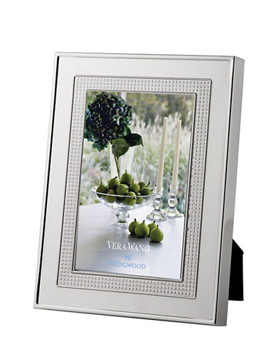Vera Wang Wedgwood  Vera Lace Bouquet Frame 5 X 7In-SILVER-One Size