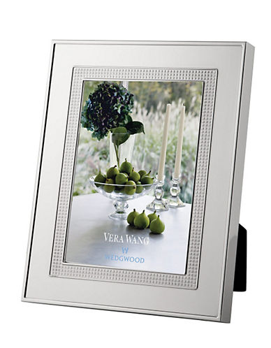 Vera Wang Blanc Sur Blanc 5 x 7 in Frame-STAINLESS STEEL-One Size