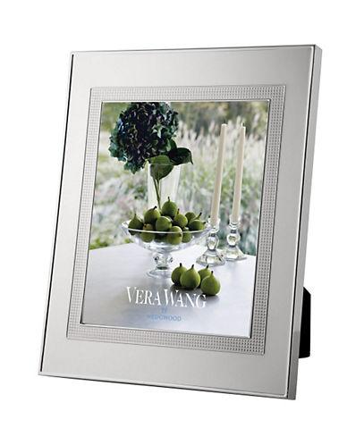 Vera Wang Wedgwood Blanc Sur Blanc Frame 8 X 10In-SILVER-One Size