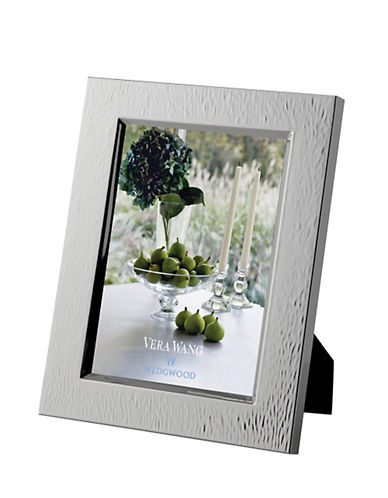 Vera Wang Wedgwood Hammered 5 x 7in Frame-SILVER-5 x 7