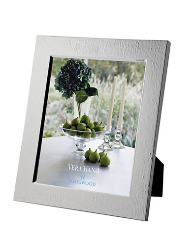 Vera Wang Wedgwood Hammered 8 x 10in Frame-SILVER-8 x 10