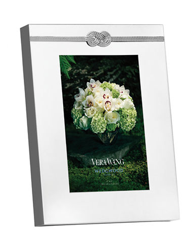 Vera Wang Infinity Frame 4x6-SILVER-One Size