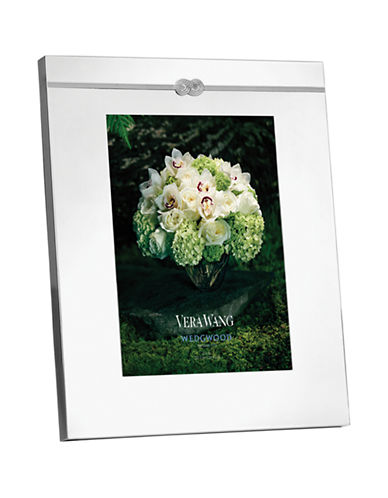 Vera Wang Infinity Frame 8x10-SILVER-One Size