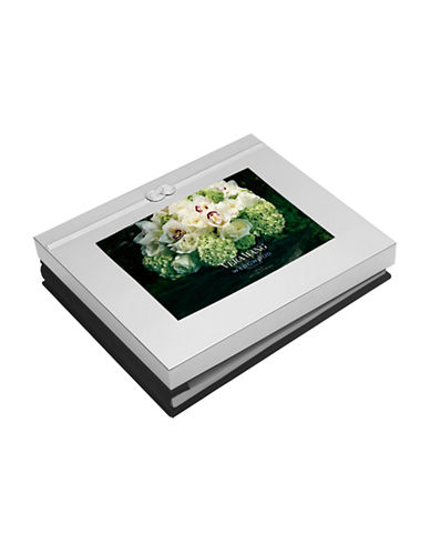 Vera Wang Infinity Photo Guest Book 5x7-WHITE-One Size