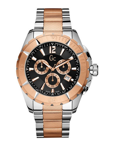 Gc Sport Class XXL Watch-TWO TONE-One Size