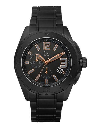 Gc Mens Sport Class XXL Blackout Watch-BLACK-One Size