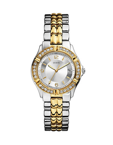 Guess Two-Tone Stainless Steel Bracelet Watch-TWO TONE-One Size