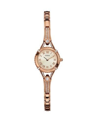Guess Angelic Rose Goldtone Watch-ROSE GOLD-One Size