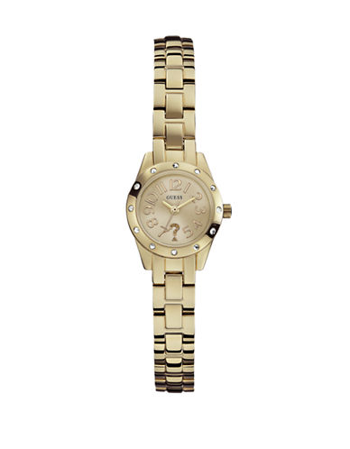 Guess Soft Gold Watch W0307L2-GOLD-One Size