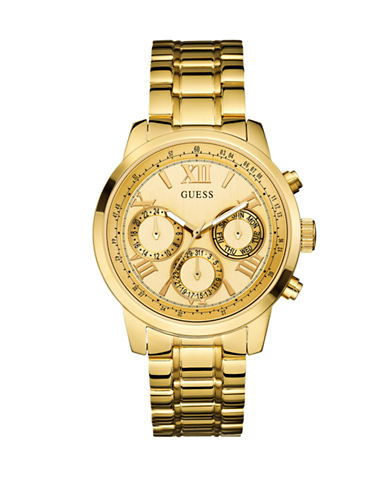 Guess Ladies Sport Watch W0330L1-GOLD-One Size